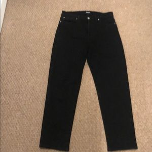 HUDSON ZOEY HIGH RISE ANKLE STRAIGHT JEAN